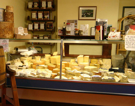 Farm Shop Cheese Counter